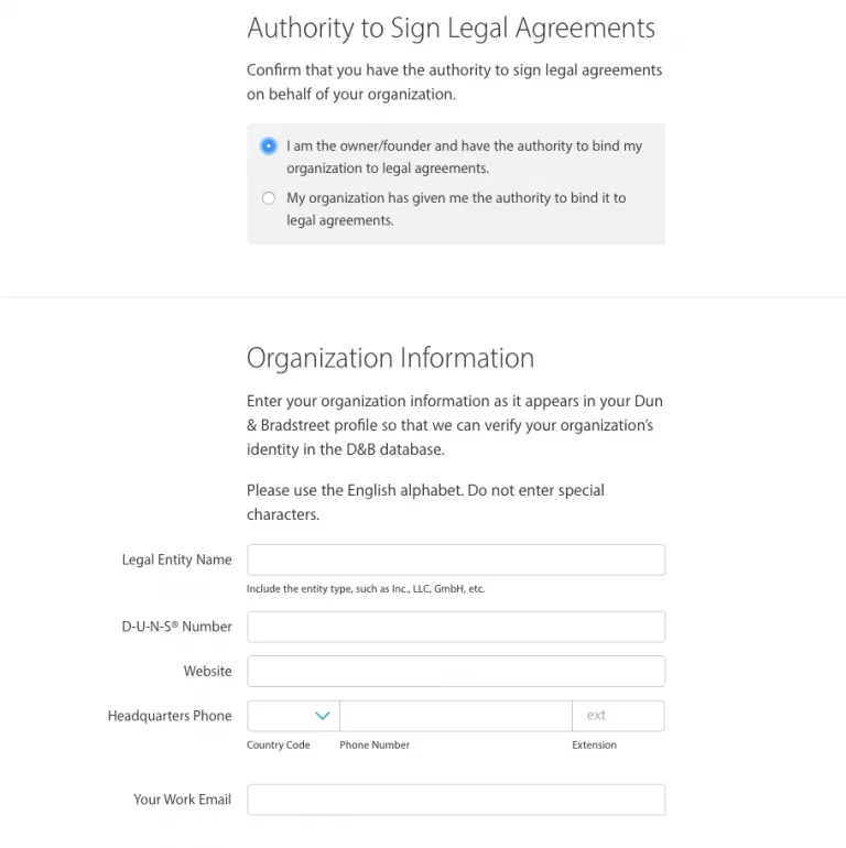 Authority to Sign Legal Agreements