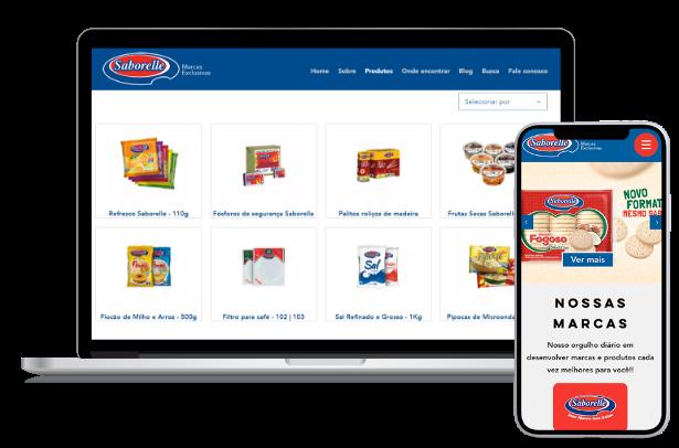 e commerce para desktop e mobile